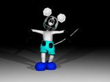 Photo Negative Slender Mickey