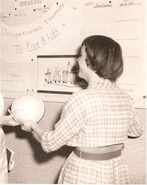 Roberta at Occupational Therapy in Little+Hall