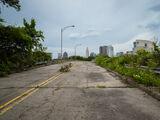 Abandoned Columbus Ohio Freeway