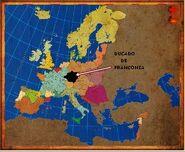 Mapa Franconia