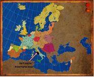 Mapa Estados Pontificios