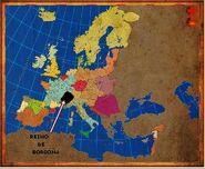 Mapa Borgoña
