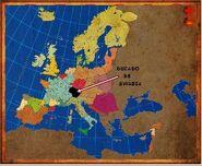 Mapa Swabia