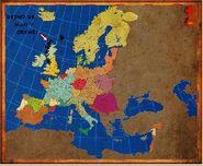 Mapa Orkney