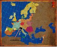 Mapa Lombardía