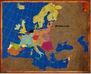 Mapa Friesland