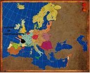 Mapa Aquitania