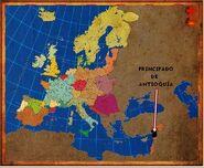 Mapa Antioquía