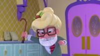 101b - Old man scolding Harriet