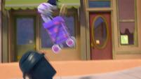 Theme 2 - Mo and Bo's cart hits a trash can