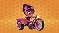 101a - Abby sits on her bike