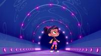 101a - Abby sees the passageway light up
