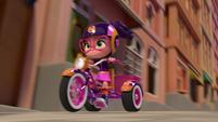 101a - Bike speeds up