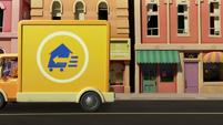 101a - Truck driving away