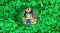 101b - Miranda makes a hole in the bush