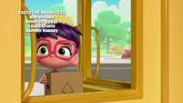 101a - Abby stuck in the door