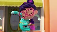 101a - Abby and Bozzly hug once again