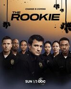The Rookie poster s3