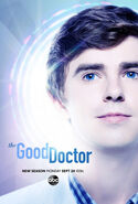 The Good Doctor season 2 poster