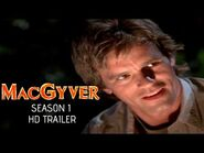 MacGyver (1985) Blu-ray SEASON 1 Trailer -1 - Richard Dean Anderson