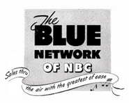 The Blue Network of NBC Logo