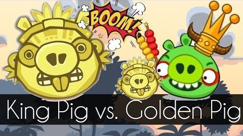 Bad Piggies - KING PIG VS