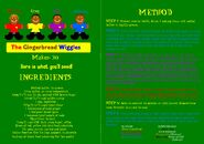 ABC for Kids Christmas Pack DVD Booklet - The Gingerbread Wiggles