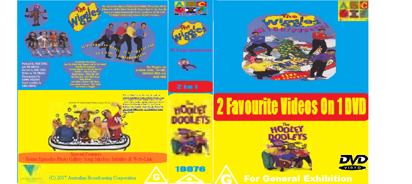 ABC For Kids Fanon:The Wiggles Wiggledance & The Hooley Dooleys