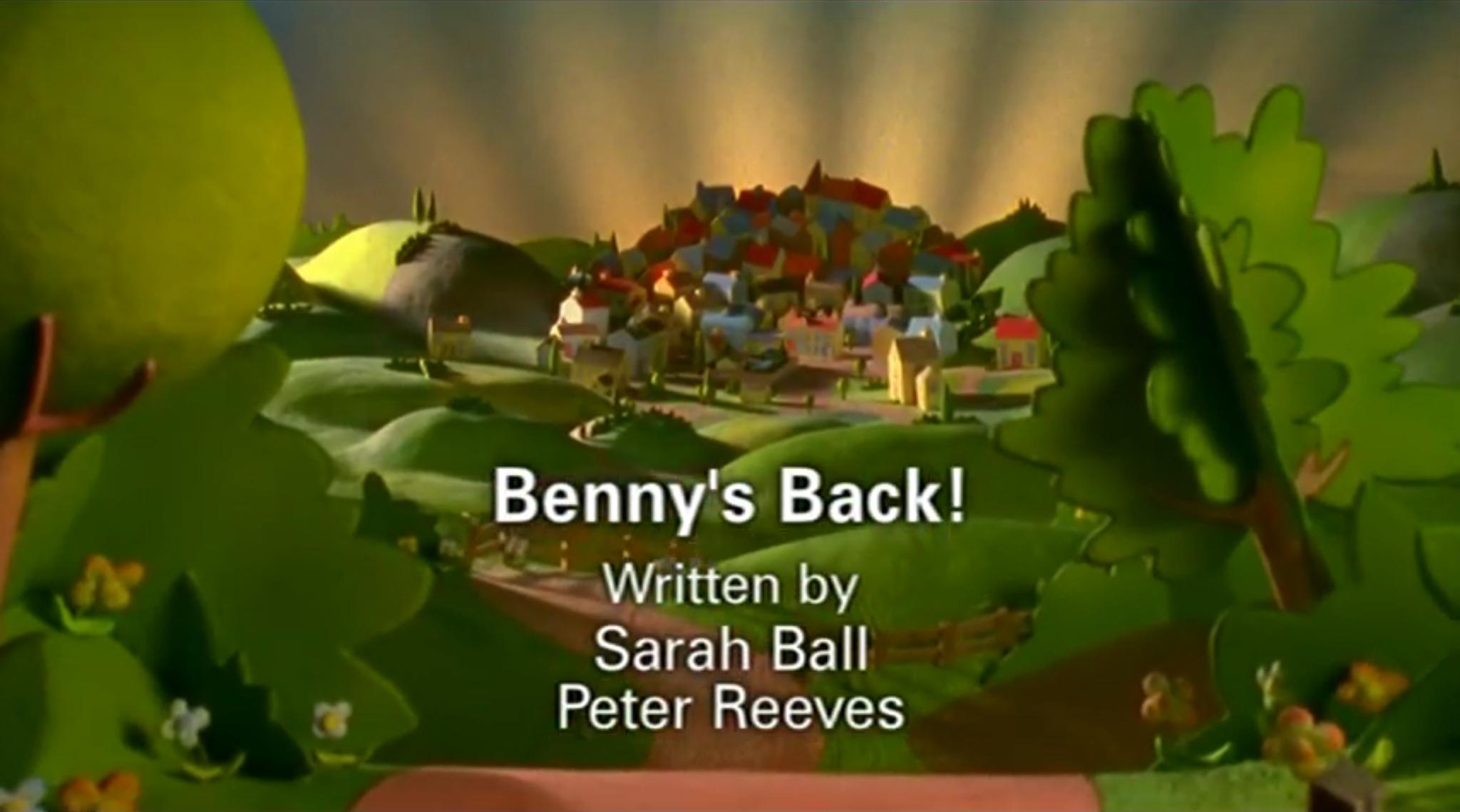 Benny's Back!/Gallery