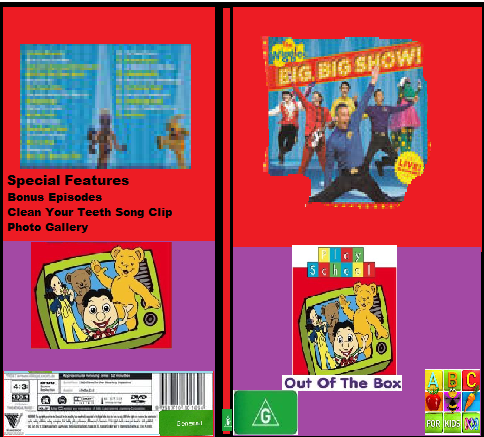 ABC For Kids Fanon:The Wiggles & Play School Big Big Show & Out Of The Box