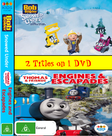Snowed Under and Engines and Escapades DVD Cover
