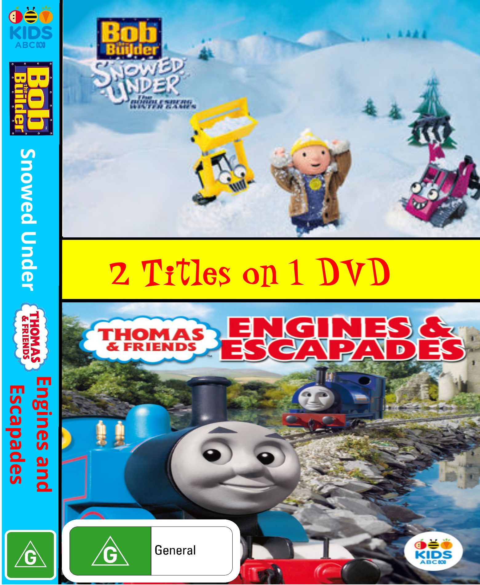 Bob the Builder and Thomas and Friends: Snowed Under and Engines and Escapades