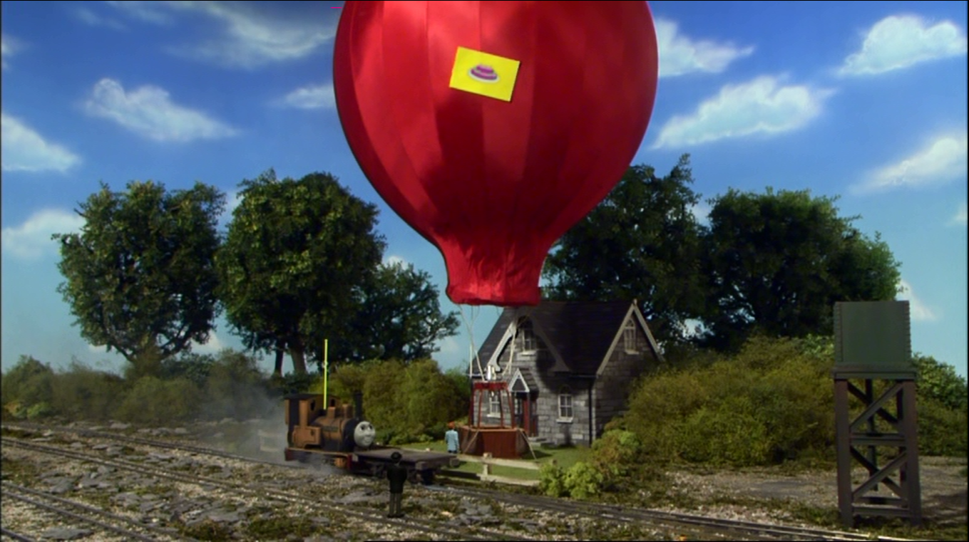 Duncan and the Hot Air Balloon