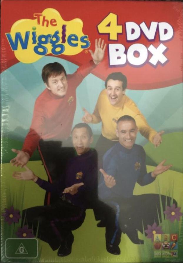 4 DVD Box