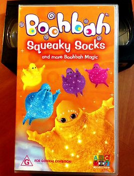 Squeaky Socks and more Boohbah Magic