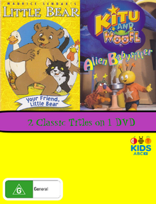 Your Friend Little Bear and Alien Babysitter DVD Cover.png