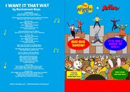 The Wiggles and Arthur - Big, Big Show and It's Only Rock N Roll DVD Booklet