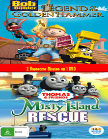 The Legend of the Golden Hammer and Misty Island Rescue DVD Cover.png