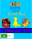 ABC For Kids Travel Pack DVD Cover