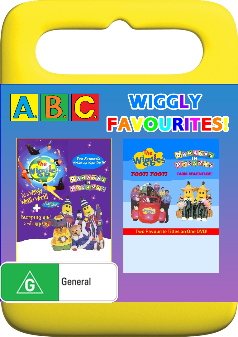 ABC for Kids Wiggly Favourites - It's a Wiggly Wiggly World! + Bumping and a-Jumping + Toot Toot! + Farm Adventure