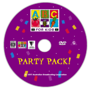 ABC for Kids Party Pack DVD Disc 2017
