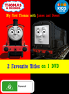 My First Thomas with James and Diesel DVD Cover