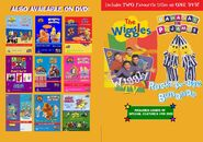 The Wiggles and Bananas in Pyjamas - Wiggly TV and Rock-A-Bye Bananas DVD Booklet