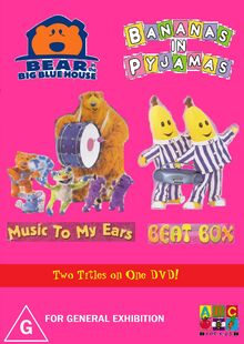 Bear in the Big Blue House and Bananas in Pyjamas - Music to My Ears and Beat Box DVD Cover - Copy - Copy.jpg