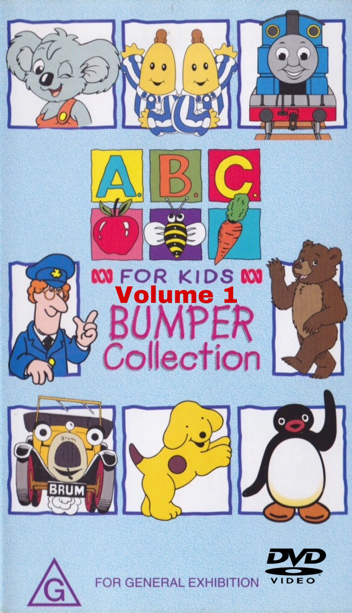 ABC For Kids - Volume 1: ABC for Kids Bumper Collection (1999)