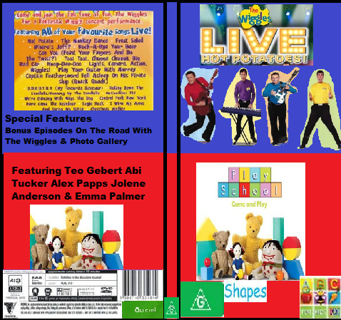 ABC For Kids Fanon:The Wiggles & Play School Live Hot Potatoes & Shapes