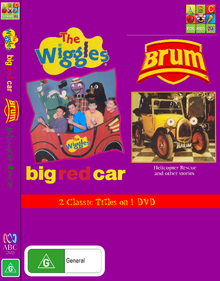 The Wiggles and Brum Big Red Car and Helicopter Rescue DVD Cover (Front and Spine).png