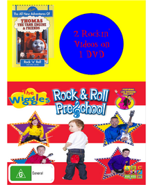 Rock and Roll Preschool and Rock 'n' Roll DVD Cover.png