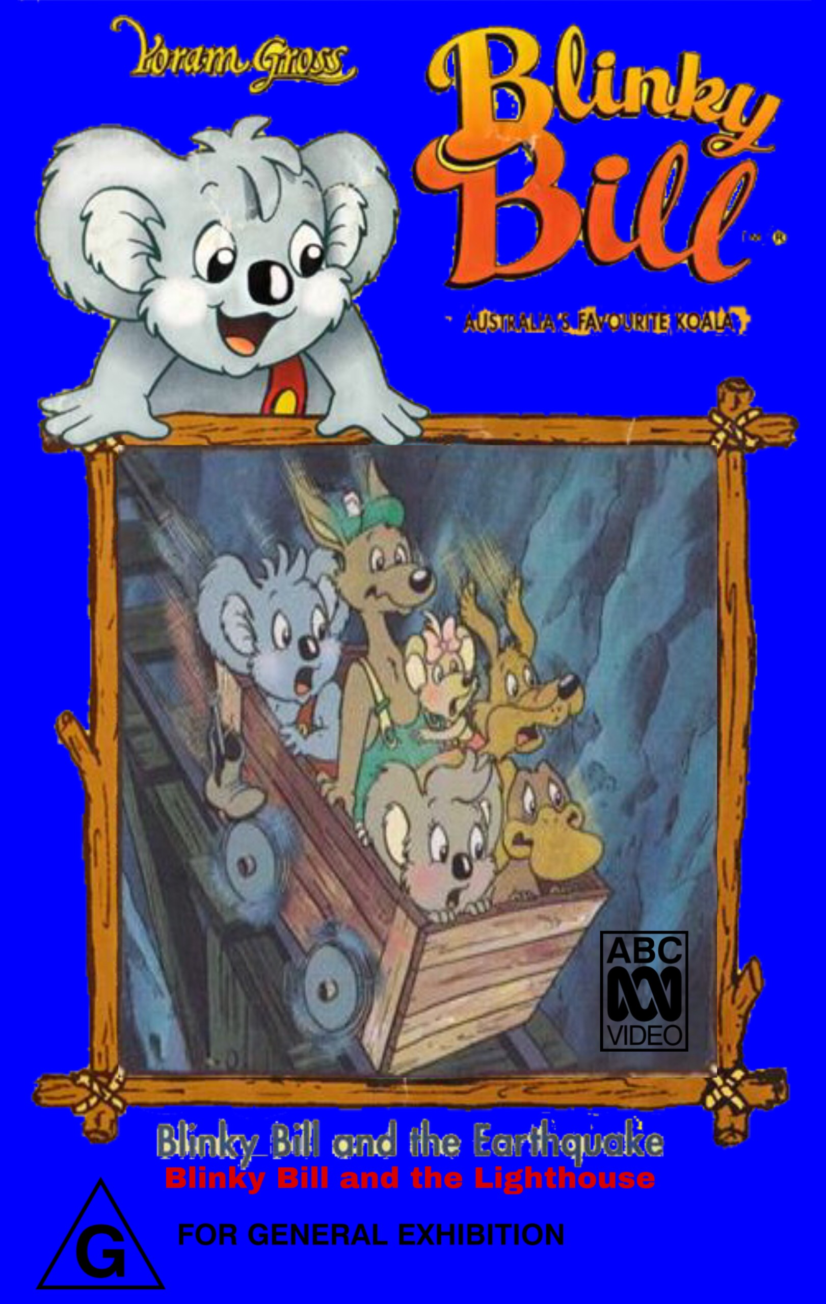 Blinky Bill and the Earthquake (VHS)