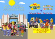 The Wiggles and Bananas in Pyjamas - Wiggle Bay and Surf's Up re-release Full DVD Booklet